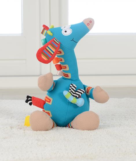 Jucarie muzicala de plus Girafa, Dolce