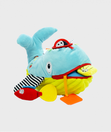 Jucarie de plus Balena, Dolce - Jucarii cu activitati -ElcoKids