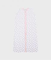 Saculet de dormit, Little Dutch, Peach Poppy, roz - Saci de dormit copii -ElcoKids