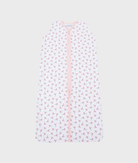 Sac de dormit pentru vara Peach Poppy, roz
