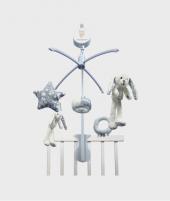 Carusel muzical din plus, Little Dutch, 35x35 cm - Carusele bebelusi -ElcoKids