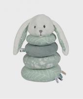 Jucarie de stivuit cu inele, Little Dutch, Adventure, din plus, 24x13 cm - Pentru bebelusi -ElcoKids