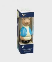 Puzzle 3D de lemn Peter Rabbit - Jucarii pentru copiii -ElcoKids