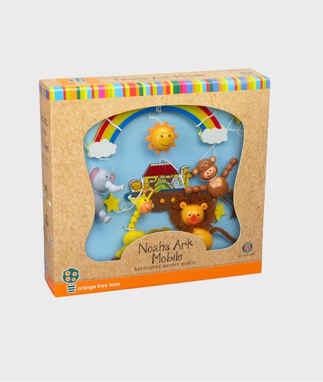 Carusel, Orange Tree Toys, Arca lui Noe, din lemn