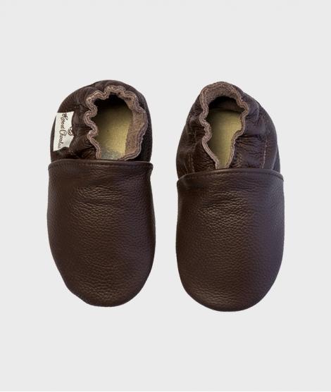 Botosei din piele, Rose et Chocolat, Uniz Brown, 0 - 4 ani