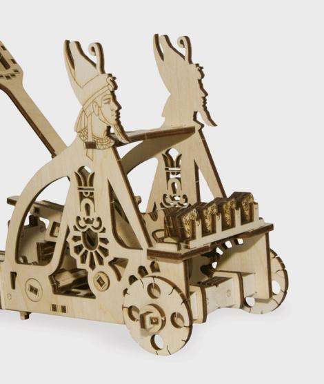 Puzzle mecanic 3D Catapulta