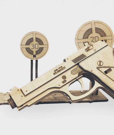 Puzzle mecanic 3D Pistol