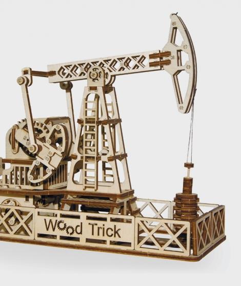 Puzzle mecanic 3D Sonda de petrol