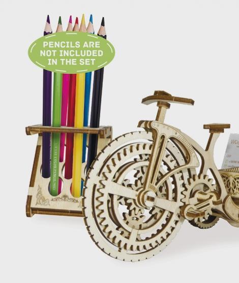 Puzzle mecanic 3D Bicicleta