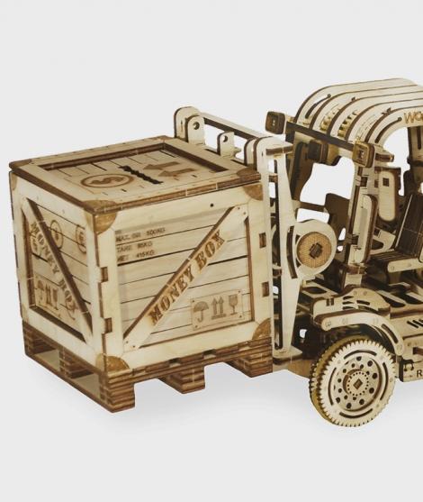Puzzle mecanic 3D Stivuitor
