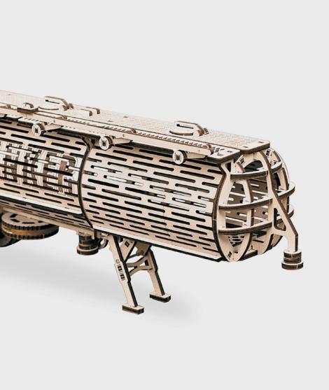 Puzzle mecanic 3D, Wood Trick, Cisterna, 200 piese