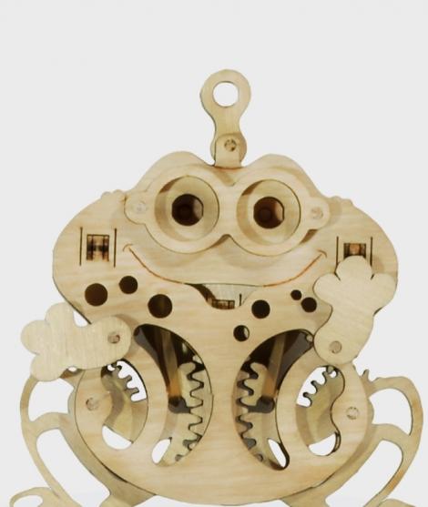 Puzzle mecanic 3D Broasca