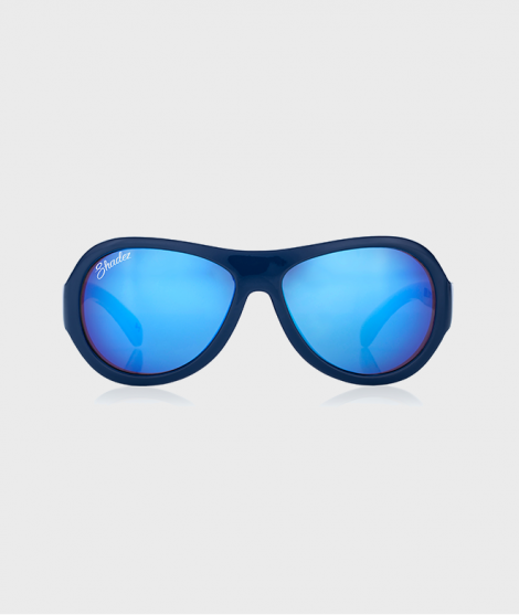 Ochelari de soare Anchor Print Junior, albastri
