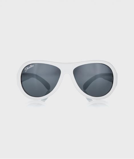 Ochelari de soare Cloud Print Junior, albi
