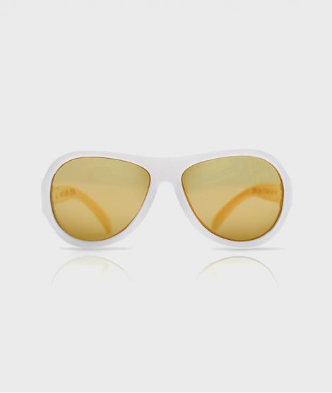 Ochelari de soare Busy Bee Baby, albi