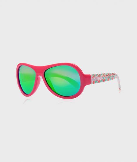 Ochelari de soare, Shadez, Leaf Print, Teeny, roz, 7 ani+