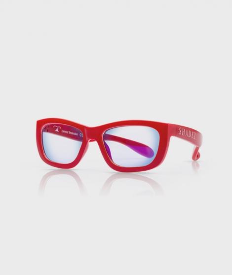Ochelari de protectie pentru calculator 7-16 ani, rosii