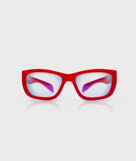 Ochelari de protectie monitoare +16 ani, rosii