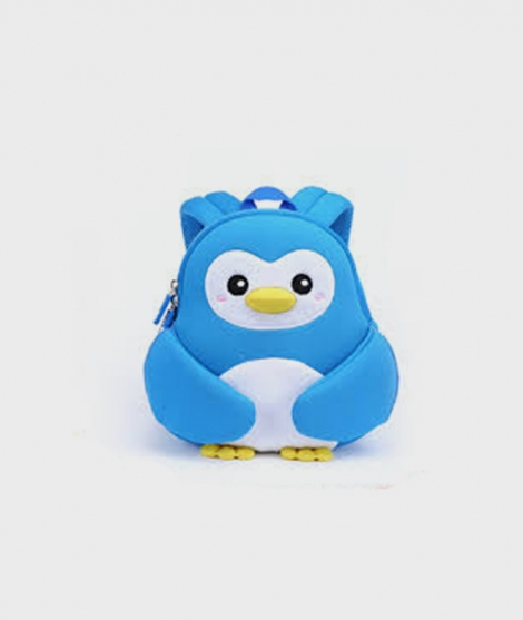 Rucsac Pinguin albastru - La plimbare -ElcoKids