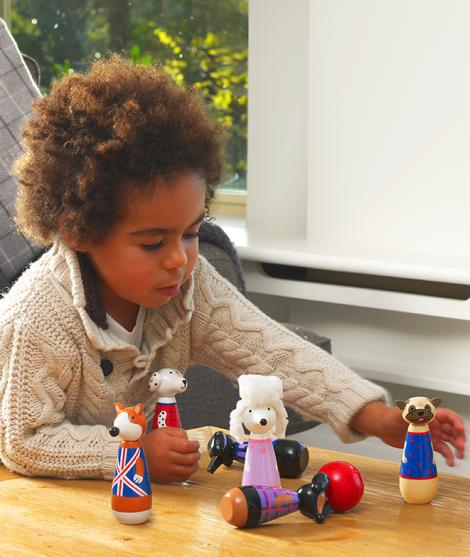 Figurine de jucarie pentru copii, catelusi, Orange Tree Toys