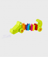 Jucarie de tras - Crocodil - Jucarii pentru copiii -ElcoKids