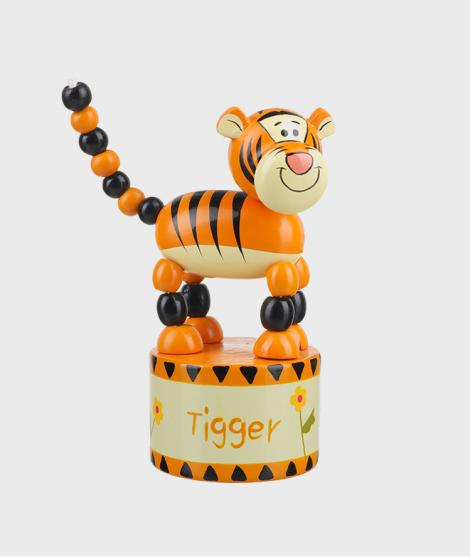 Jucarie Push Up - Tigru - Jucarii pentru copiii -ElcoKids