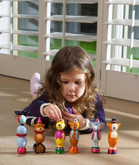 Figurine din lemn, Orange Tree Toys, circul