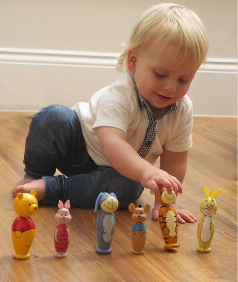 Figurine din lemn, Orange Tree Toys, Winnie The Pooh