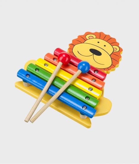 Xilofon pentru copii, forma Leu
