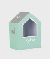 Iepuras de plus Kaloo, aqua cu crem, 25 cm - Jucarii de plus -ElcoKids