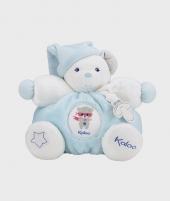 Jucarie de plus ursulet Kaloo, albastru, 25 cm - Jucarii de plus -ElcoKids