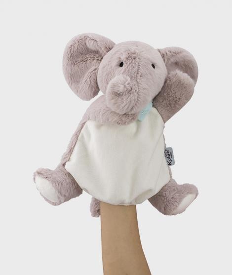 Marioneta de plus elefant, Kaloo, 30 cm