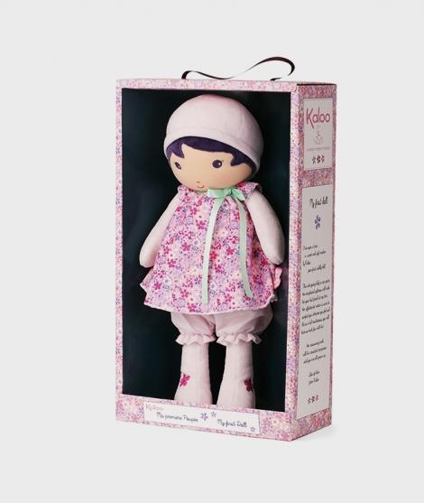 Papusa din plus, Kaloo, Fleur XL, roz, 40 cm