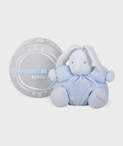 Iepuras de plus Kaloo, 25 cm, albastru, gama Perle - Jucarii de plus bebelusi -ElcoKids