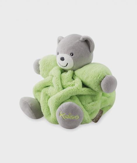 Ursulet de plus Kaloo, 18 cm, verde neon