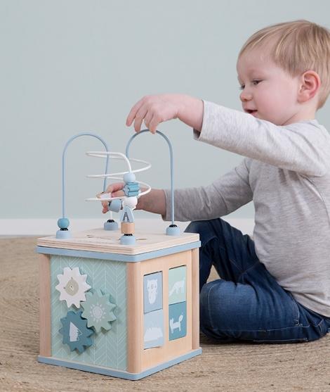 Cub cu activitati pentru copii, Little Dutch, Adventure