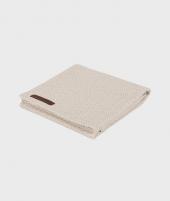 Muselina, Little Dutch, Beige/Mint Waves, din bumbac, 120 x 120 cm - ElcoKids