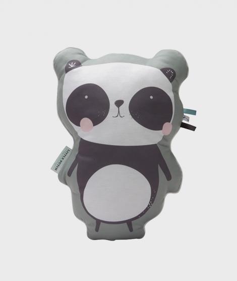 Perna Panda pentru copii, 45 cm, Adventure mint, Little Dutch