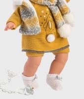 Papusa chic Llorens Kate cu fular, 38 cm - Papusi Llorens si accesorii -ElcoKids