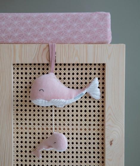 Jucarie muzicala pentru bebelusi pink Little Dutch