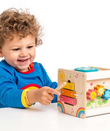 Cub cu activitati, Le Toy Van, din lemn