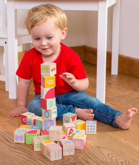 Joc ABC, Le Toy Van, din lemn, 30 piese, 12 luni+