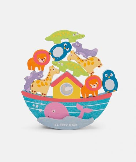 Jucarie de echilibru, Le Toy Van, arca lui Noe, din lemn