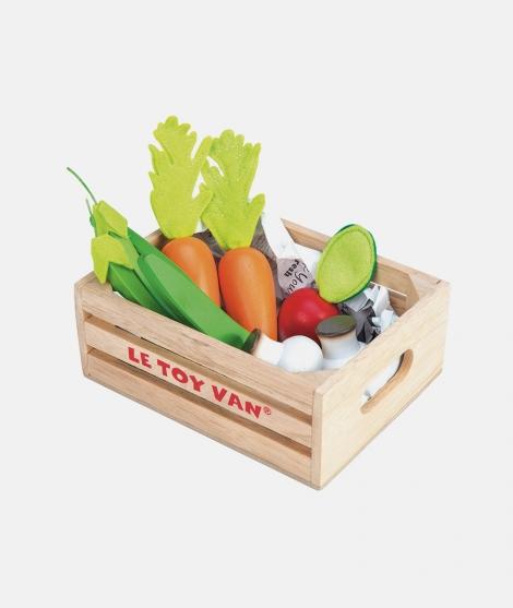 Ladita cu legume, Le Toy Van, din lemn, 2 ani+