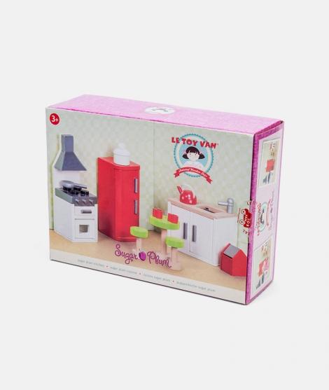 Mobilier pentru casuta, Le Toy Van, bucatarie Sugar Plum, din lemn