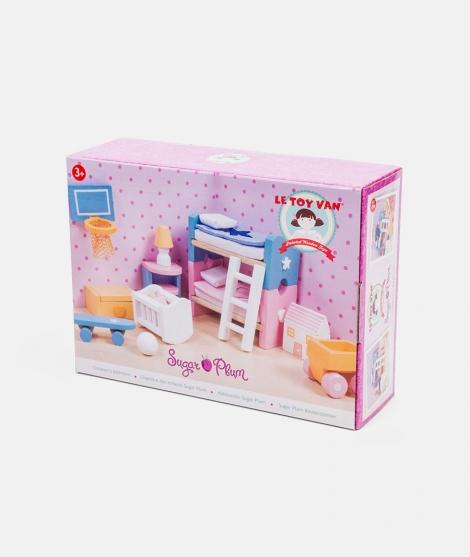 Mobilier pentru casuta, Le Toy Van, camera copiilor Sugar Plum, din lemn