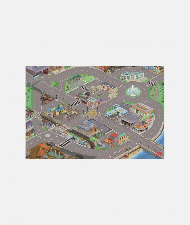 Covoras - masini Le toy Van - Covoare de joaca copii -ElcoKids