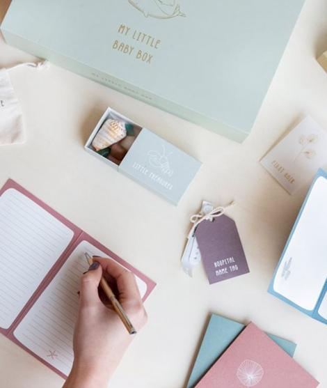 Cutie pentru amintiri, Little Dutch, din carton, cu accesorii