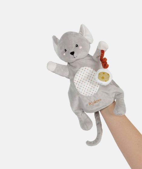 Jucarie marioneta soricel 30 cm Kaloo