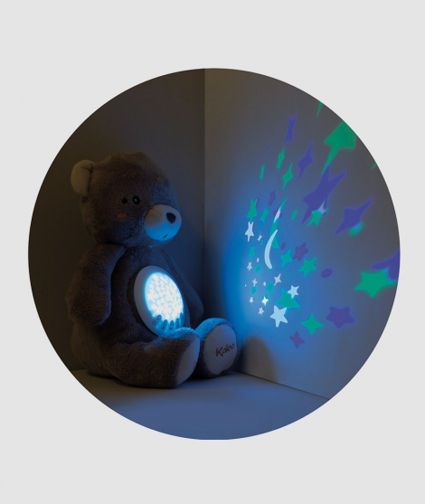 Proiector de noapte urs 32 cm Kaloo